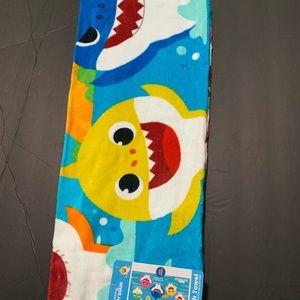 Other - Baby shark beach towel